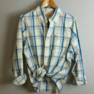 Hollister Unisex Plaid Shirt